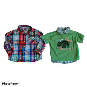 Various Brands Boys Size 24M Lot of Shirts